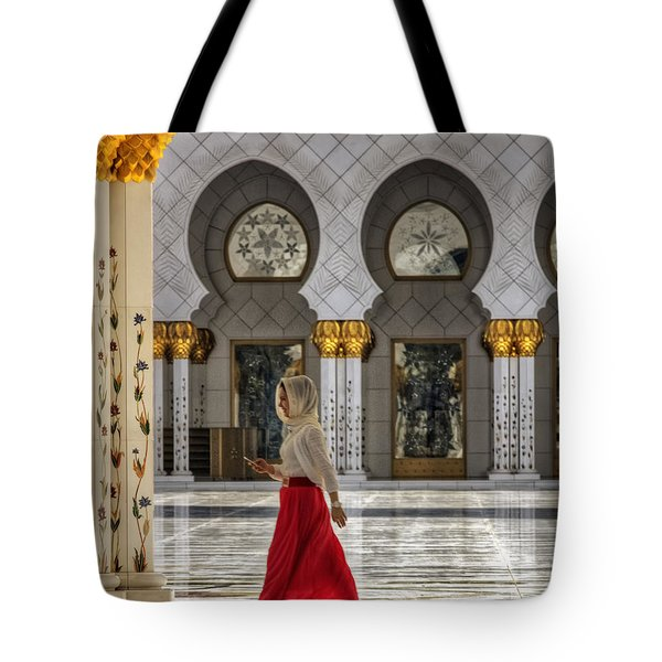 Tote Bag featuring the photograph Walking Temple by John Swartz