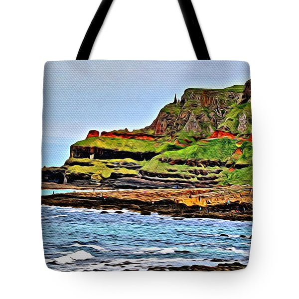 Tote Bag featuring the photograph Walking The Causeway by Beauty For God