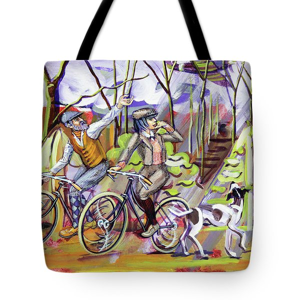 Walking The Dog 1 Tote Bag