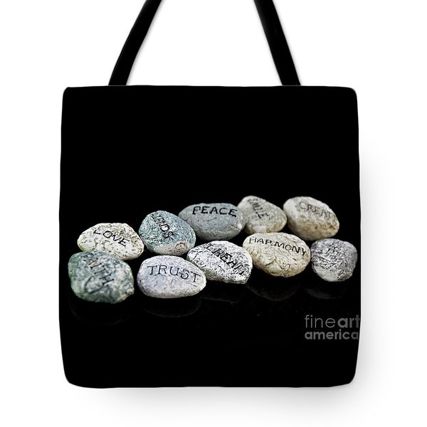Walking The Right Path Tote Bag