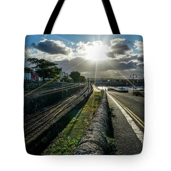 Walking The Streets Tote Bag