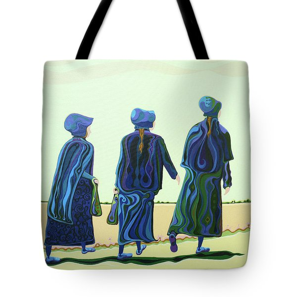 Walking The Walk Tote Bag