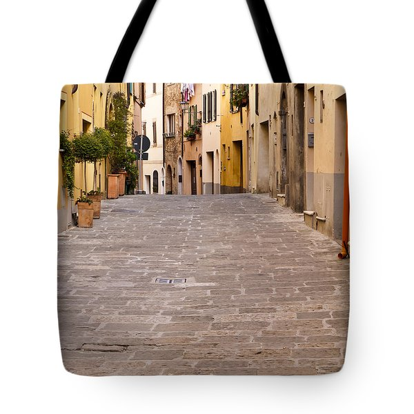 Walking Through Montepulciano Tote Bag by Rae Tucker