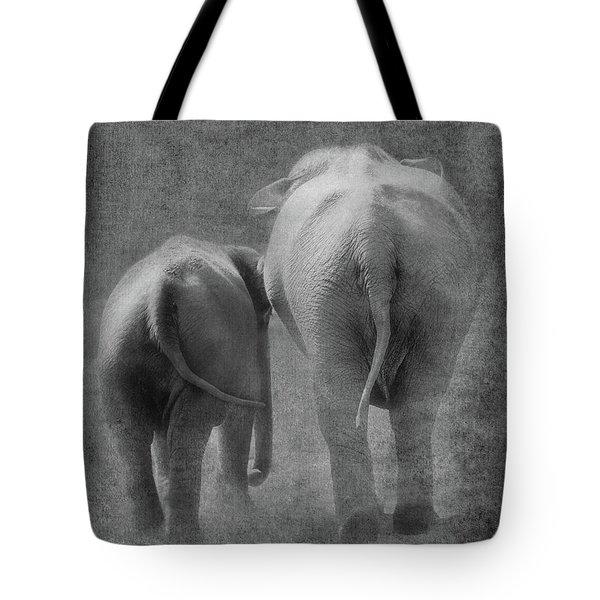 Walking Together Tote Bag