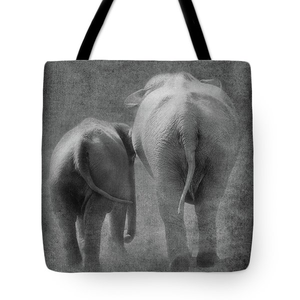 Walking Together Tote Bag