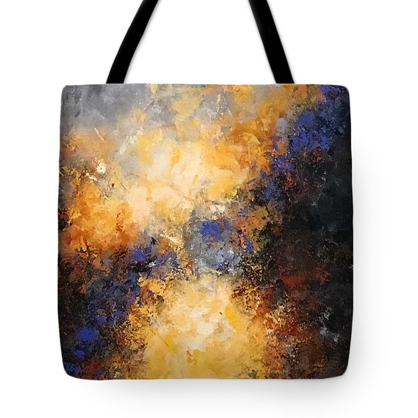 Walking Towards The Light Tote Bag