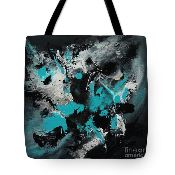 Walking Wave-1 Tote Bag