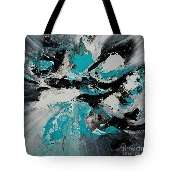 Walking Wave-3 Tote Bag