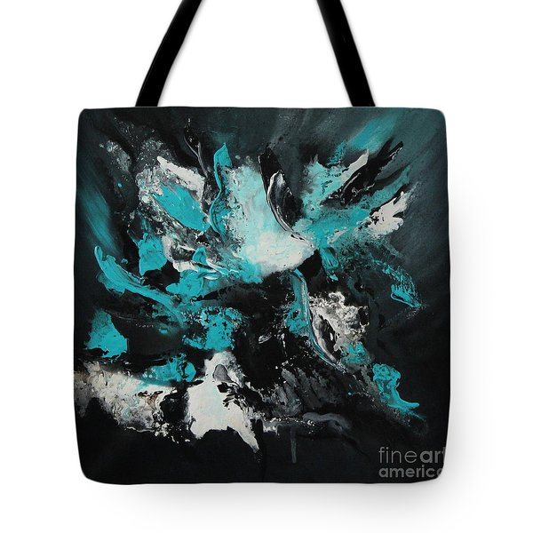Walking Wave-4 Tote Bag