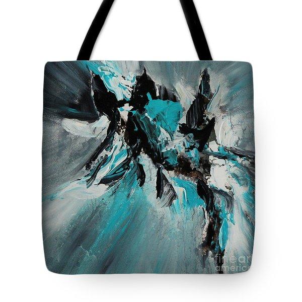 Walking Waves-2 Tote Bag