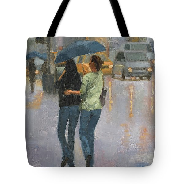 Walking With You Tote Bag