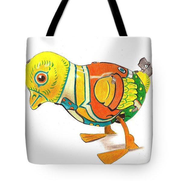 Walkingbird Tote Bag