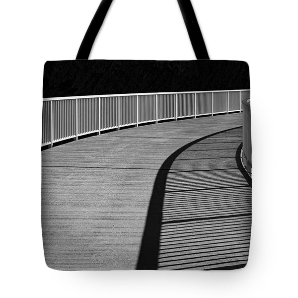 Tote Bag featuring the photograph Walkway by Chevy Fleet