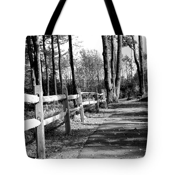 Tote Bag featuring the photograph Walkway by Rick Morgan