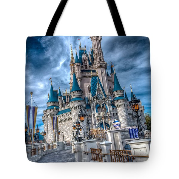 Walkway To Cinderellas Castle Tote Bag