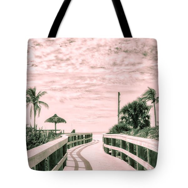 Walkway To The Beach Tote Bag