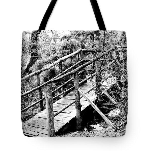 Walkway Tote Bag by William Dey