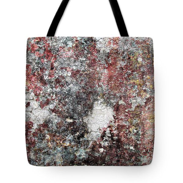 Wall Abstract 103 Tote Bag