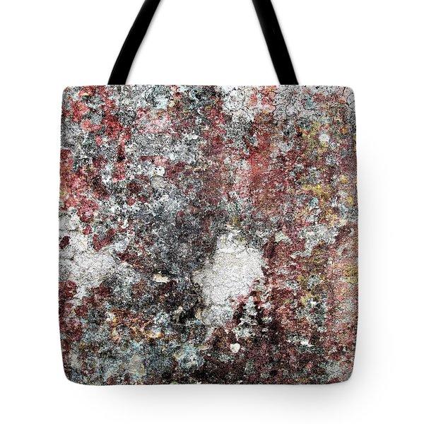 Wall Abstract 103 Tote Bag by Maria Huntley
