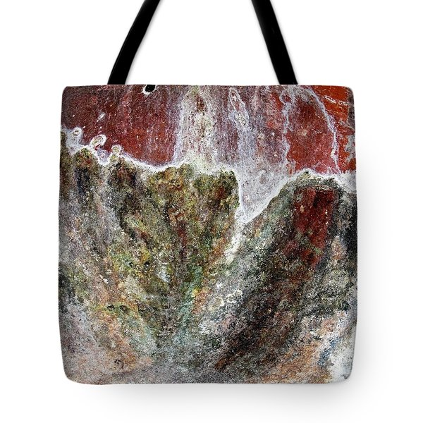 Wall Abstract 144 Tote Bag