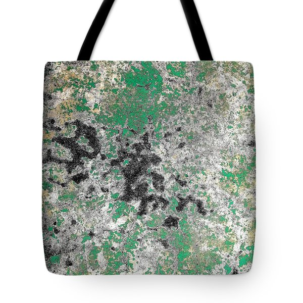 Tote Bag featuring the photograph Wall Abstract 160 by Maria Huntley