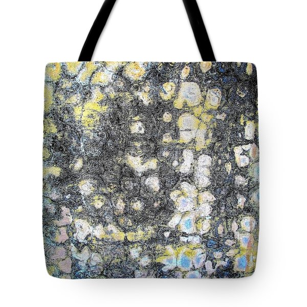 Wall Abstract 162 Tote Bag