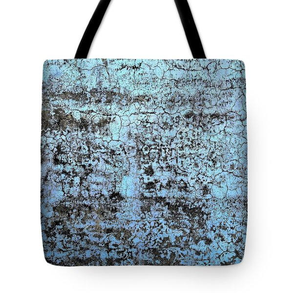 Tote Bag featuring the photograph Wall Abstract 163 by Maria Huntley