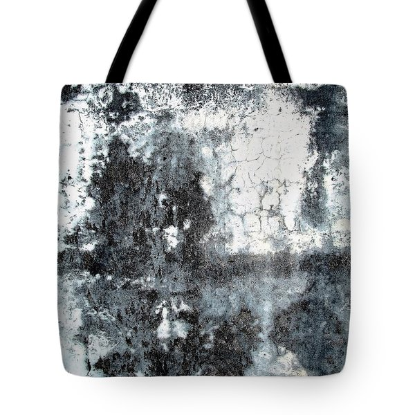 Tote Bag featuring the photograph Wall Abstract 165 by Maria Huntley
