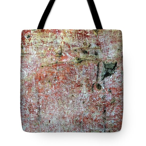 Tote Bag featuring the photograph Wall Abstract 169 by Maria Huntley