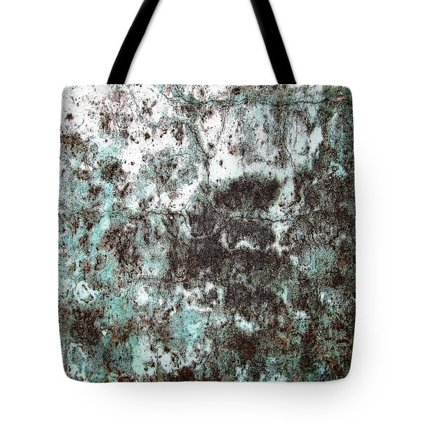 Tote Bag featuring the photograph Wall Abstract 173 by Maria Huntley