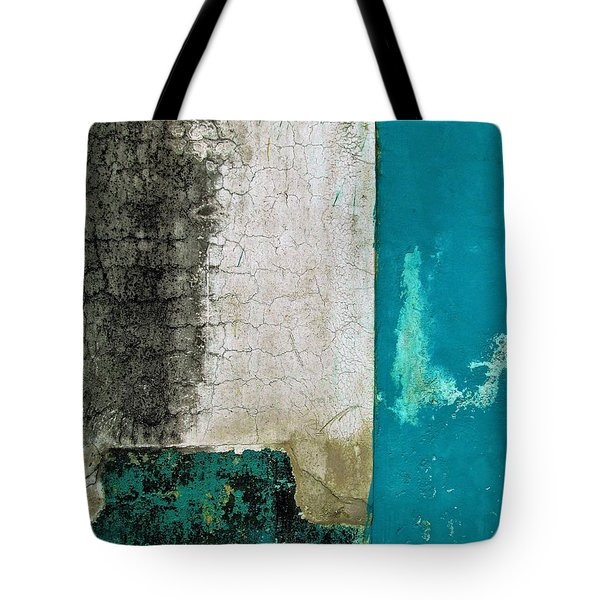 Wall Abstract 296 Tote Bag