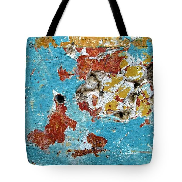 Wall Abstract 99 Tote Bag
