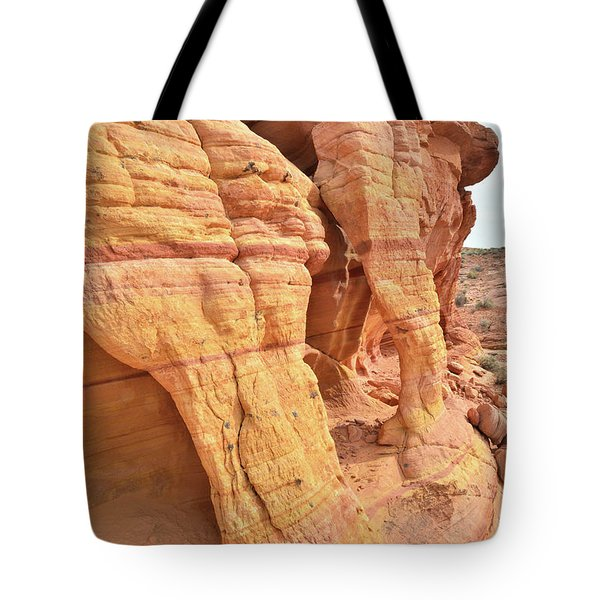 Tote Bag featuring the photograph Wall Arches In North Valley Of Fire by Ray Mathis