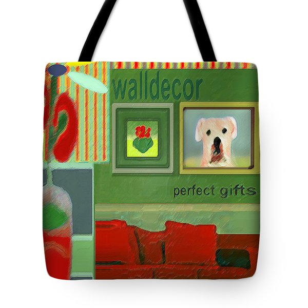 Wall Decor Painting   Tote Bag