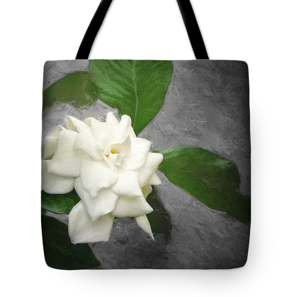 Wall Flower Tote Bag by Carolyn Marshall