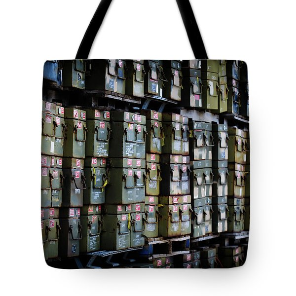 Wall Of Containment Tote Bag