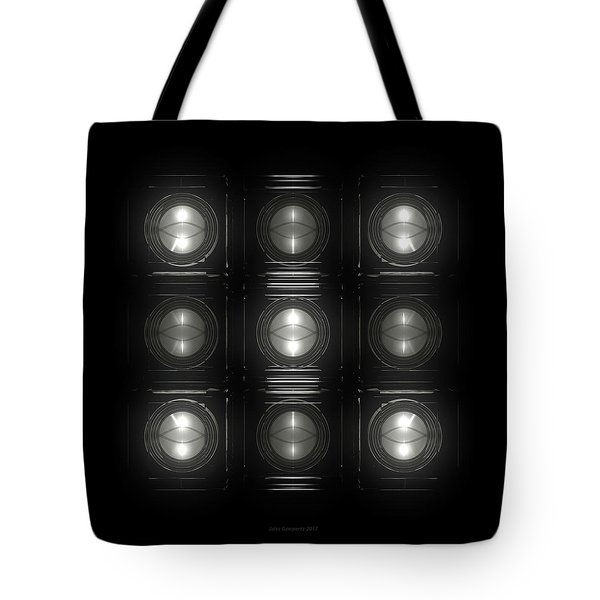 Wall Of Roundels 3x3 Tote Bag