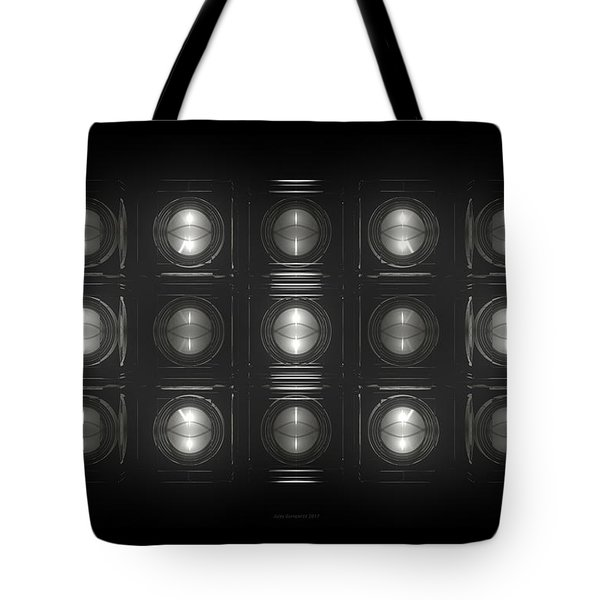 Wall Of Roundels - 5x3 Tote Bag
