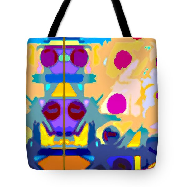 Wall Paper Tote Bag