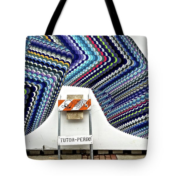 Wall Portrait Tote Bag by Julie Gebhardt