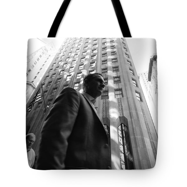 Wall Street Man II Tote Bag