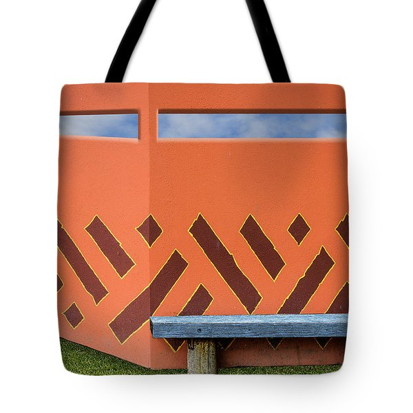Wall With A View Tote Bag