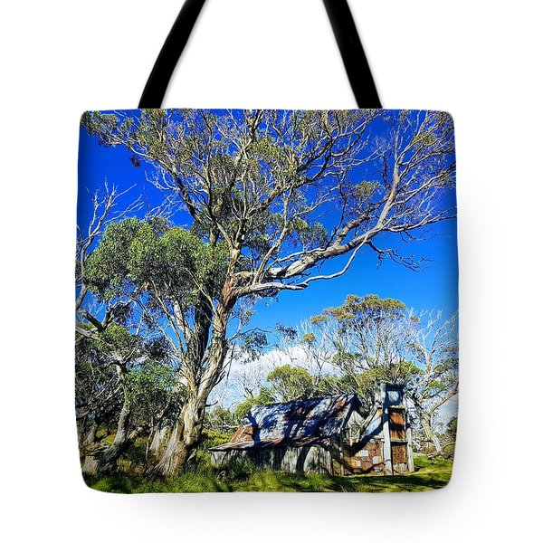 Wallace Hut Tote Bag