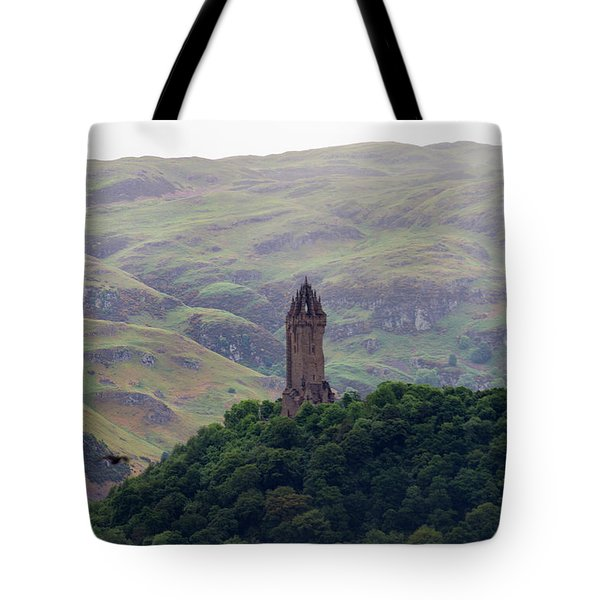 Wallace Monument Tote Bag