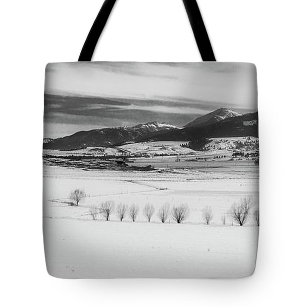 Tote Bag featuring the photograph Wallowa Mountains by Cat Connor