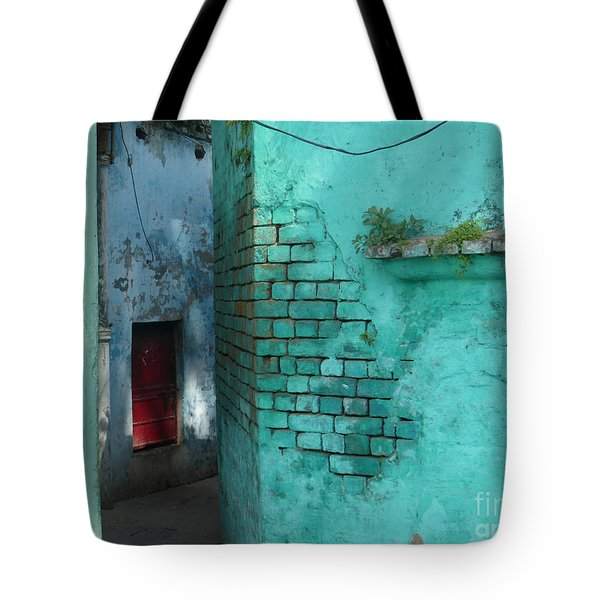Walls Tote Bag by Jean luc Comperat