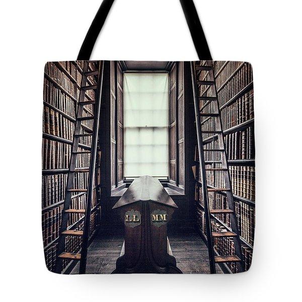 Walls Of Books Tote Bag