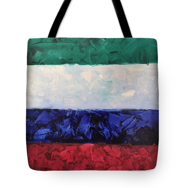 Walls Of The New Jerusalem Tote Bag