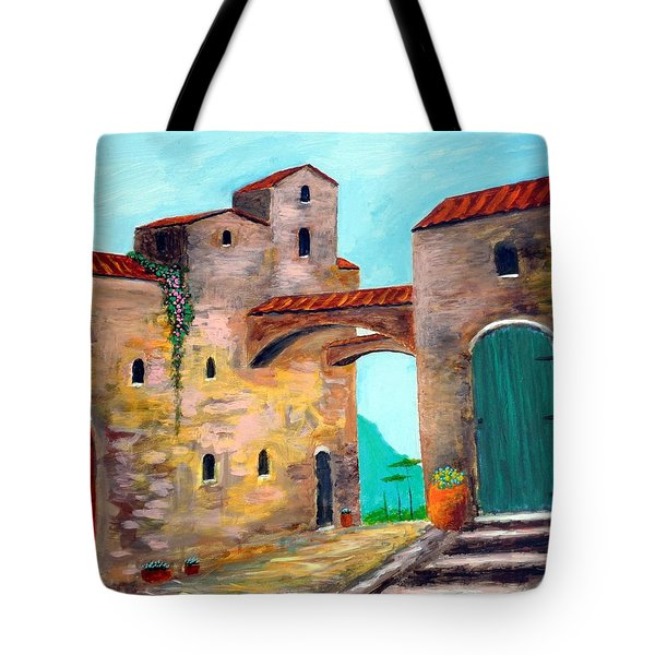 Walls Of Time Tote Bag