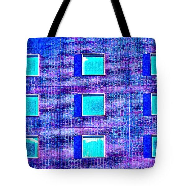 Walls Of Windows Tote Bag by Gillis Cone